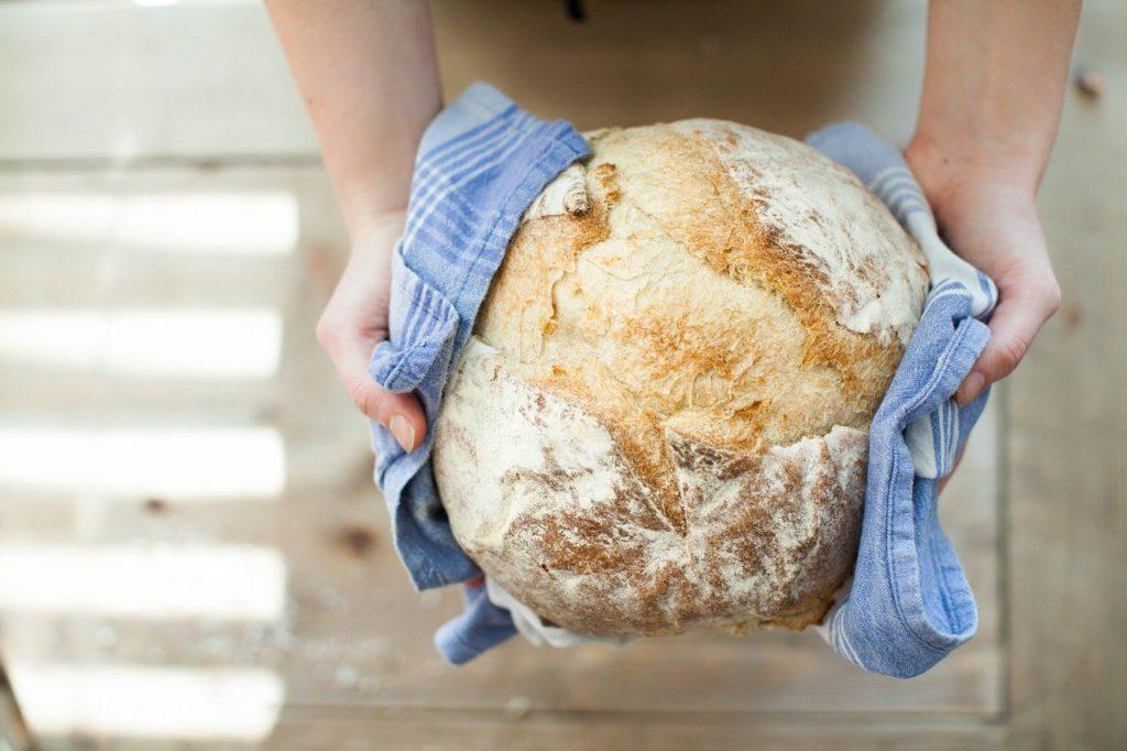 bread, baking, fresh