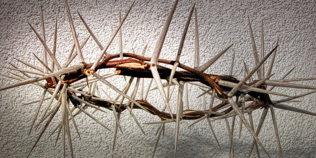 easter, crown of thorns, crucifixion