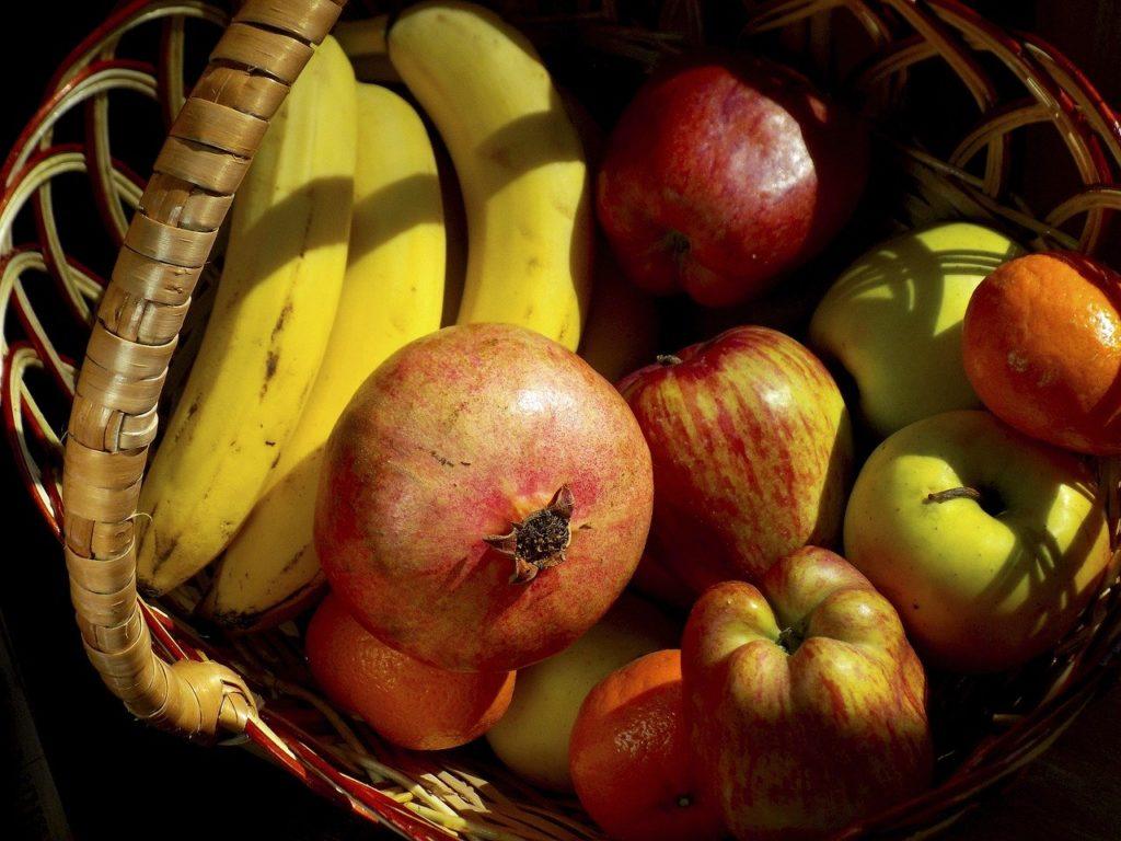 fruit, fruit basket, basket