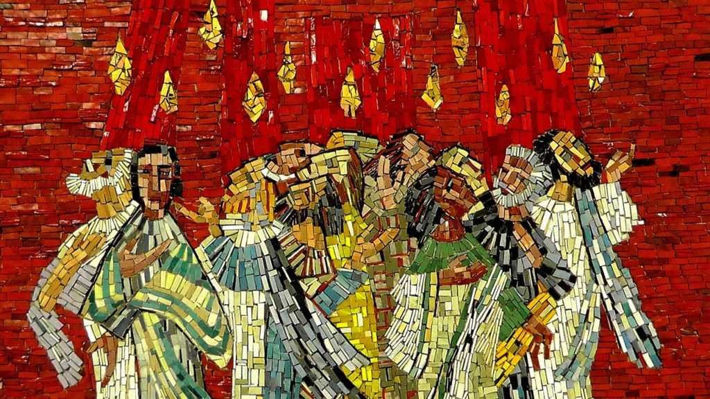 mosaic, image, art