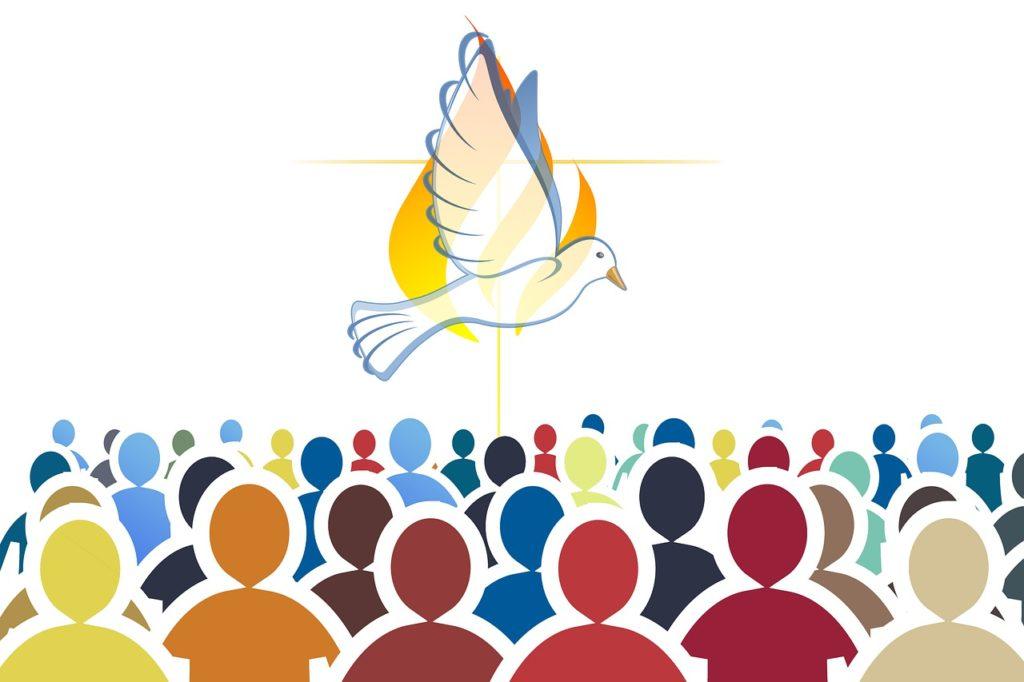 pentecost, holy spirit, christianity